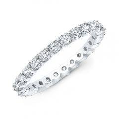 Prong Br Eternity Band (Sz 4)