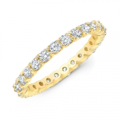 Prong Br 1Ct Eternity Band