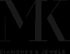 Forevermark Tribute White Gold Bezel Hoop Earrings